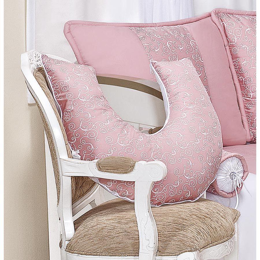 Apoio para Amamentar Bebê - Coleção Flor de Liz