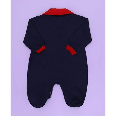 Saida Maternidade Barco - Tecido Malha - Azul - P