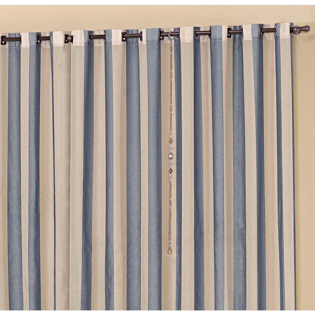 Cortina para Varão Laion 3 Metros x 2,50 Metros Alt Tecido Linhão - Azul