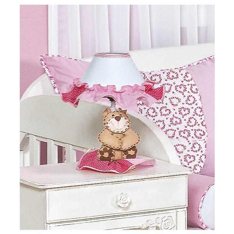 Abajur Enfeitado - Coleção Mamãe Ursa Baby