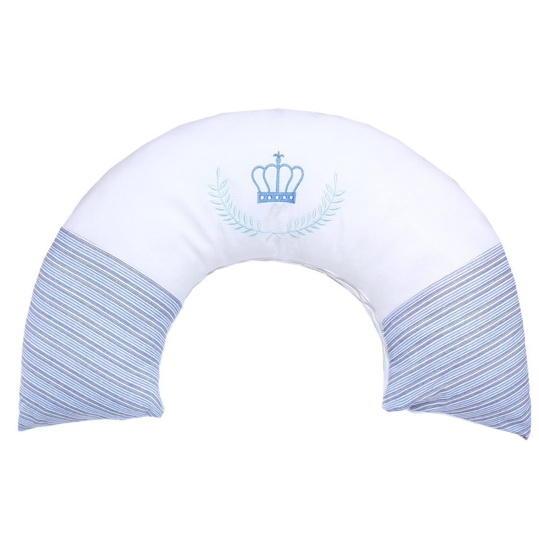Almofada Amamentação - Coleção My Prince - 100% Algodão - Azul