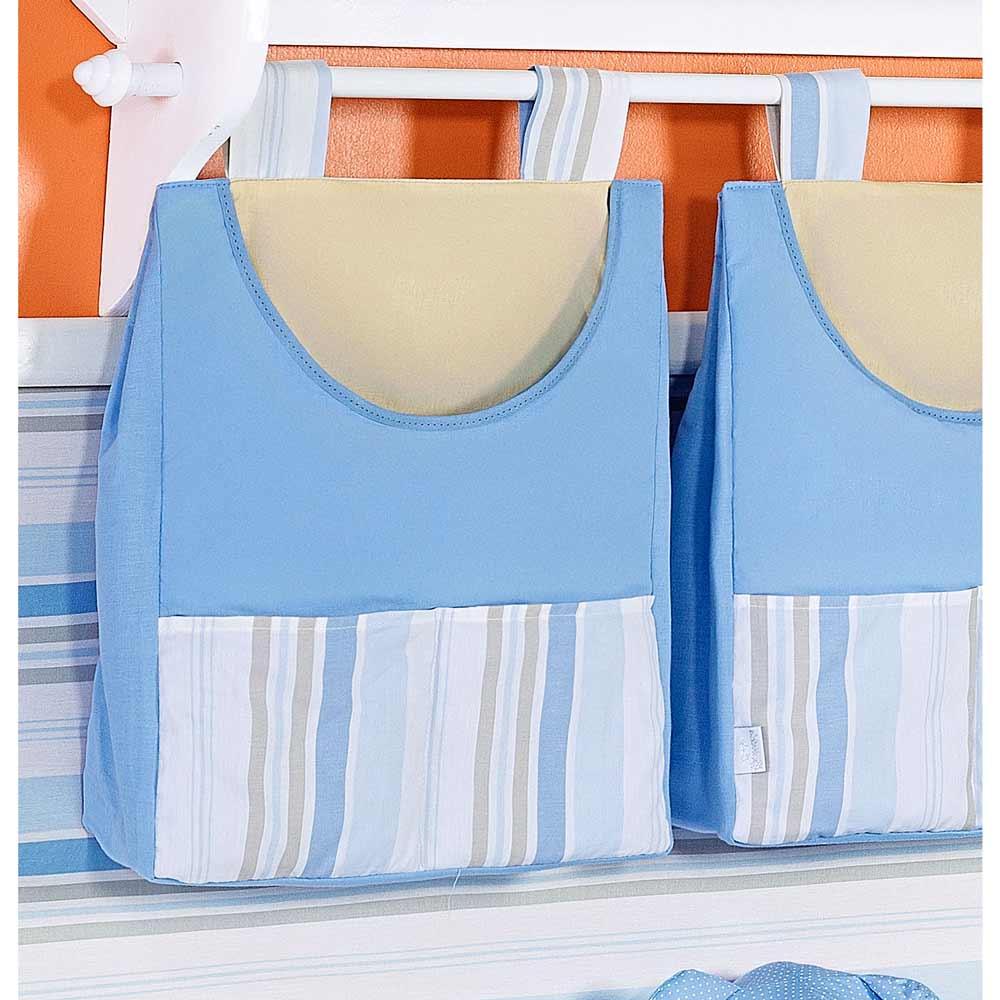 Porta Fraldas de Varão Coleção Aventura - Azul