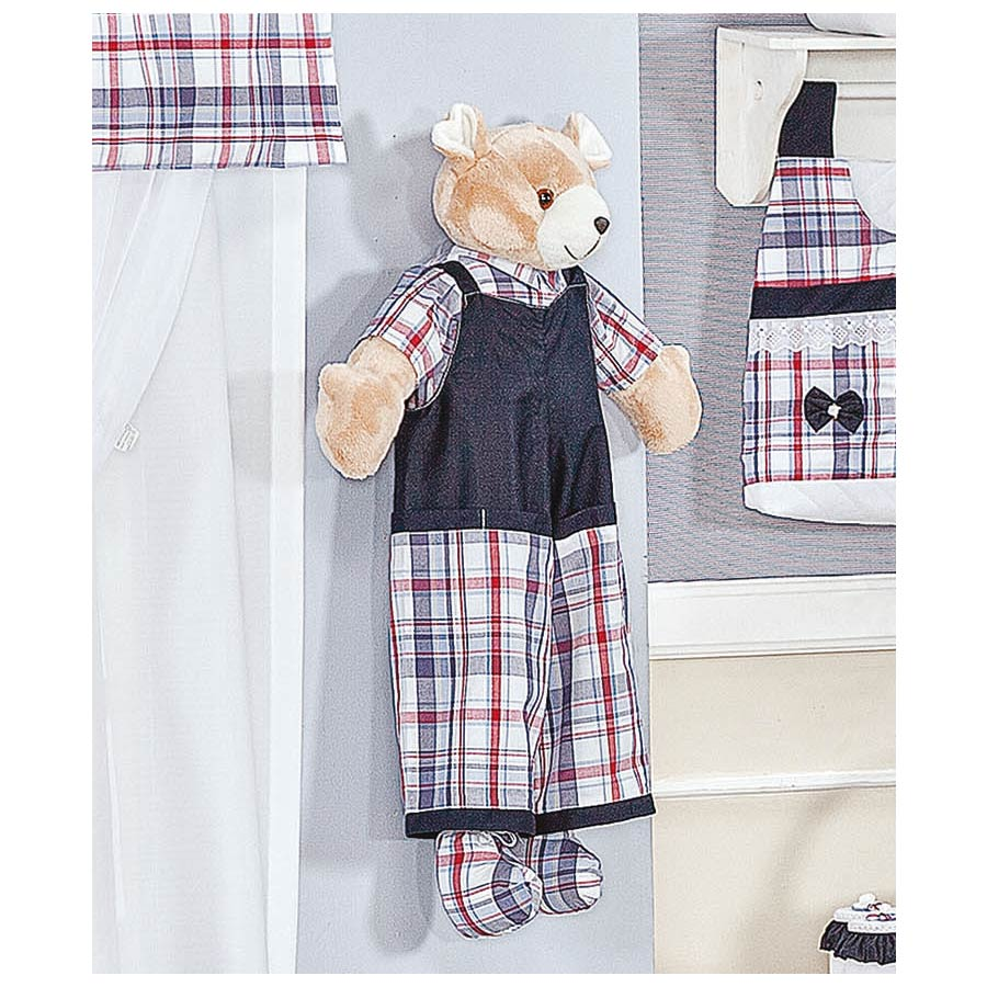 Porta Fraldas Urso - Coleção Sailor