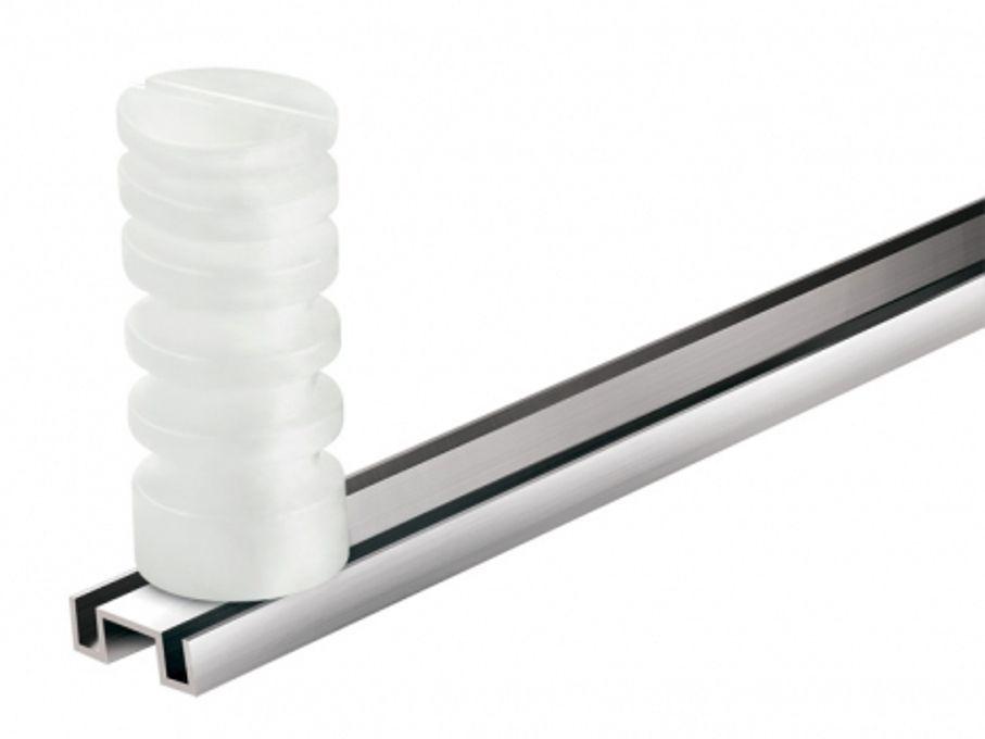Haste de Alumínio M1 com 4 Isoladores - 75 cm