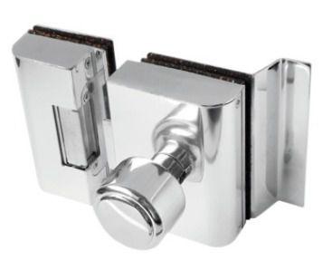 Fechadura Porta de Vidro c/ rasgo, 2 folhas e abertura interna - PVR2I AGL