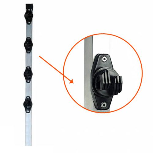 Big Haste p/ Cerca Elétrica com 4 Isoladores W - 80 cm