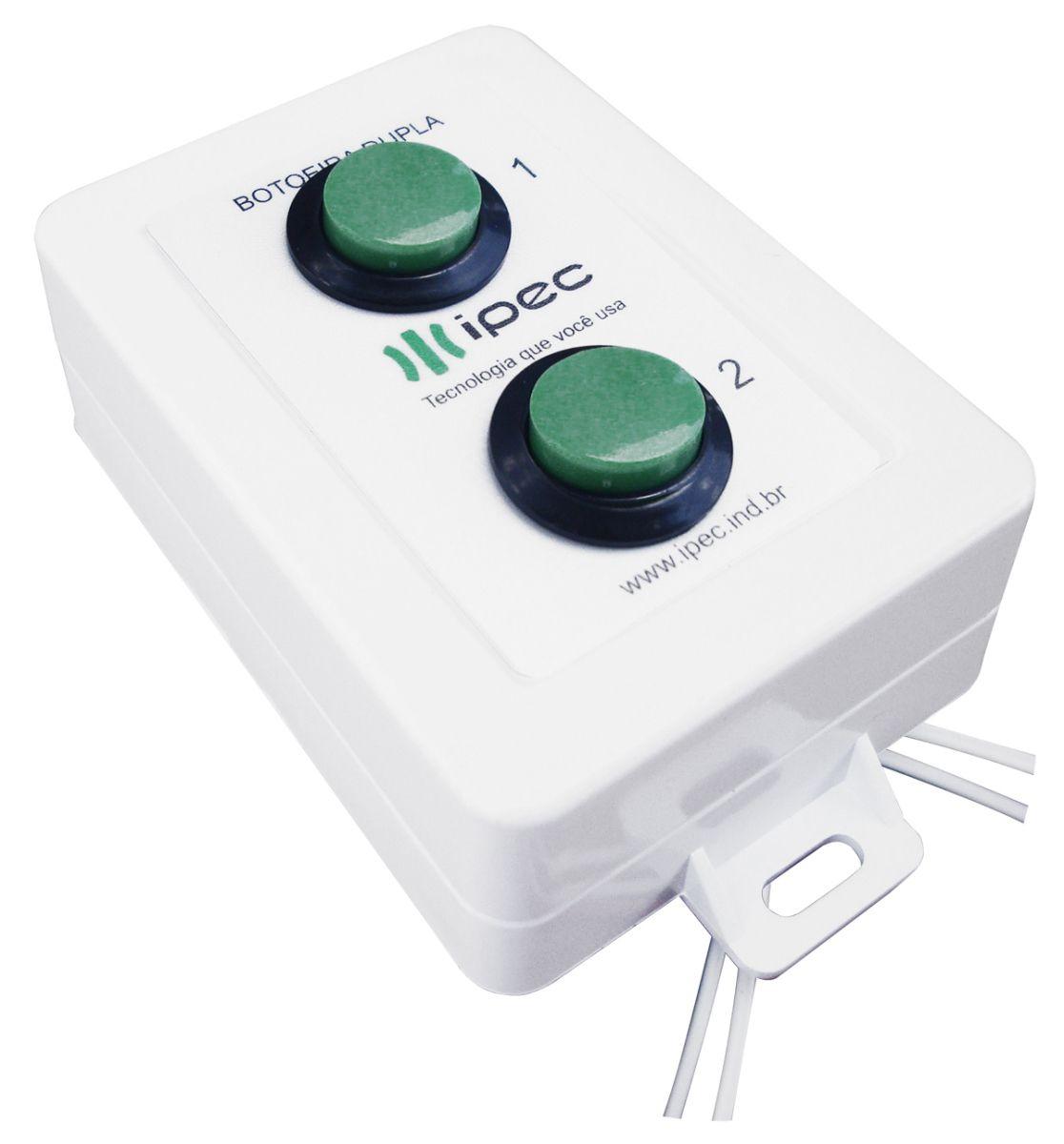 Botoeira Dupla com Fio IPEC Bot2