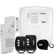 Kit de Alarme Residencial e Comercial Max 4 Alard - Com Discadora DTMF  ECP