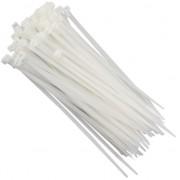 Abraçadeira de Nylon Branca 4,8 x 200mm