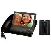 Vídeo Porteiro de Mesa e Parede Slim Color Tela de 7 Polegadas  LCD