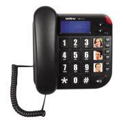 Telefone com Fio e Identificador de Chamadas Intelbras Tok Fácil Id