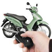 Alarme Moto Honda Biz 125 Flex Até 2011 Partida No Controle Com Injeção (Cód. 1957)