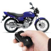 Moto Alarme Dedicado Honda Titan 125 Sem Injeção (Com Controle Canivete)