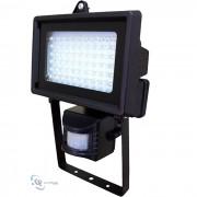 Refletor 60 Leds e Sensor de Presença DNI-6038