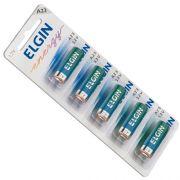 Bateria Elgin A23 Energy 12V Cartela Com 5 Unidades