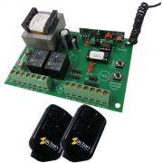 Central p/  Portão Eletrônico Garen + 2 Controles