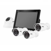 Combo DVR Com Monitor 4 Câmeras e HD Sata de 500GB - Intelbras
