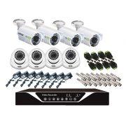 Kit Segurança DVR Stand Alone 8 Câmeras + Acessórios