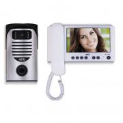 Vídeo Porteiro Color Tela LCD de 7'' TFT com Entrada para + 2 Câmeras