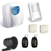 Kit Alarme Genno 3 Sensores sem Fio com Discadora