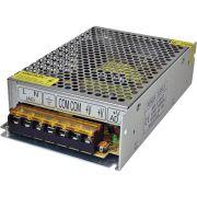 Fonte Chaveada Estabilizada Bivolt 12V 15A - Bivolt Para CFTV