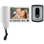 Vídeo Porteiro Colorido IV-7010 HF LCD - Branco Intelbras