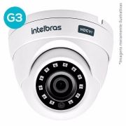 Câmera Dome Intelbras Multi Hd 3.6 Mm 20 Mts VHD 3220D Full Hd C/ Infrav. G3 - 1080P