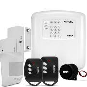 Kit Alarme Alard Max 4 ECP Residencial e Comercial c/ 3 Sensores e Discadora Telefônica