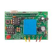Receptor de 1 Canal Mult Funções da New Back 433,92MHz com Flet