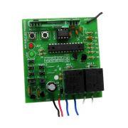 Receptor Duplo Canal Frequência 433.92 Mhz Multi-Códigos