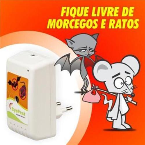 Repelente Eletrônico para Ratos e Morcegos Bivolt - Byepest