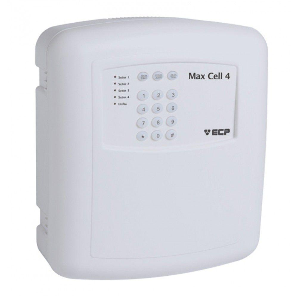 Central de Alarme  Alard Max Cell 4 GSM com Discadora Via Celular - ECP