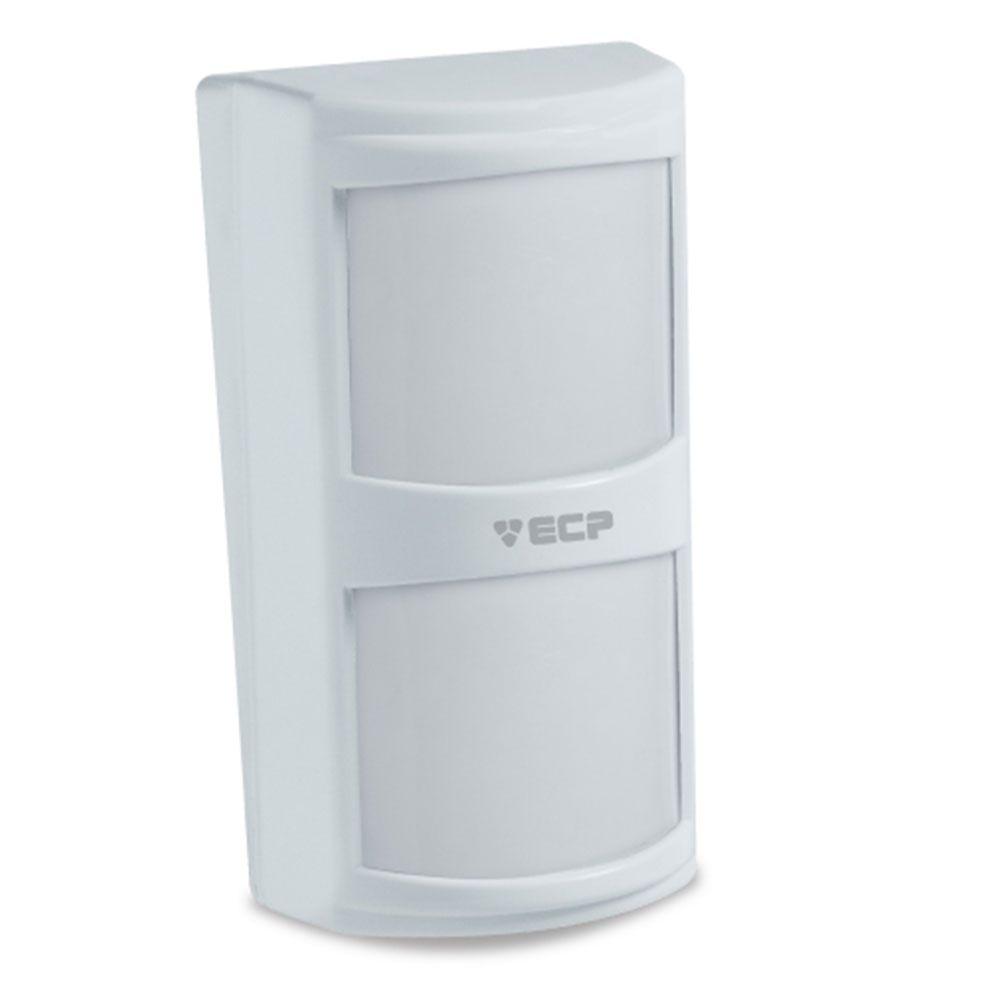 IVP Sensor Infra Passivo com Fio Visory Duplo PIR - ECP