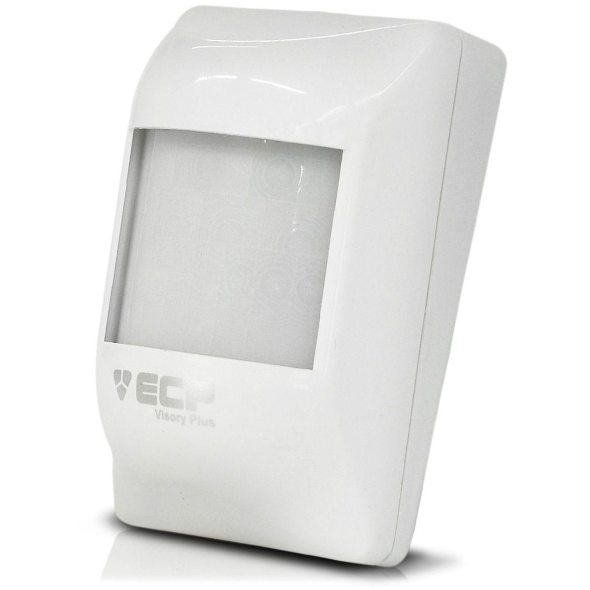 Sensor Infra Digital Com Fio Visory Plus Digital Ecp