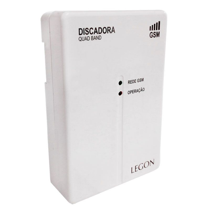 Central de Alarme Genno Inform Slim 1 Setor com Discadora GSM Embutida