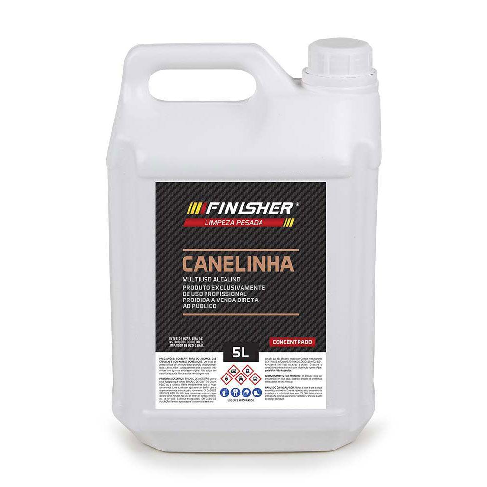APC Multiuso Alcalino Finisher Concentrado - Canelinha - 5 Litros