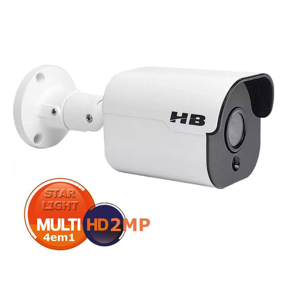 Câmera Star Light 4em1 de 2MP Full HD 1080P - HB-700