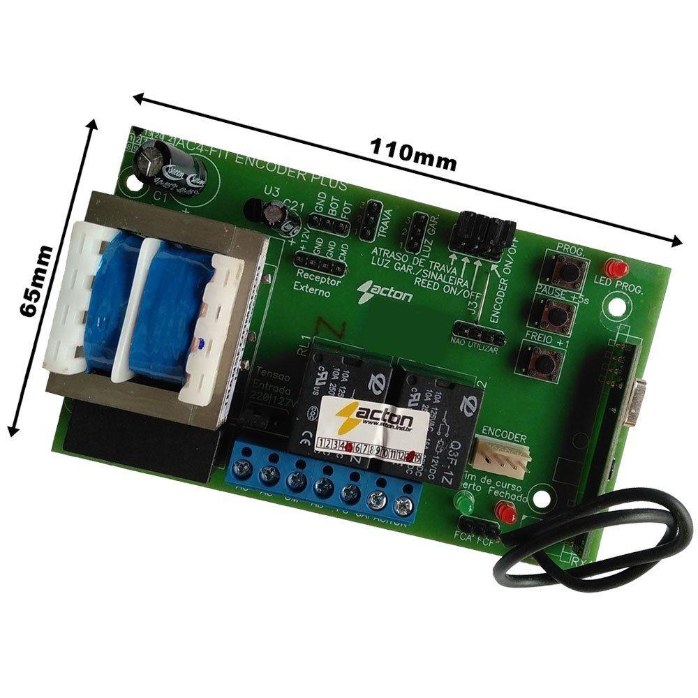 Central de Comando Acton para Motores PPA com Encoder - AC4 FIT PA