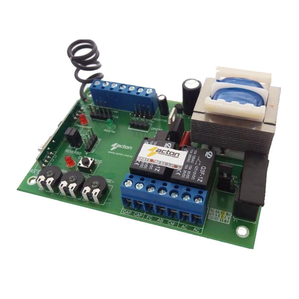 Central Placa de Comando compatível com Unisystem e Garen V2 GU