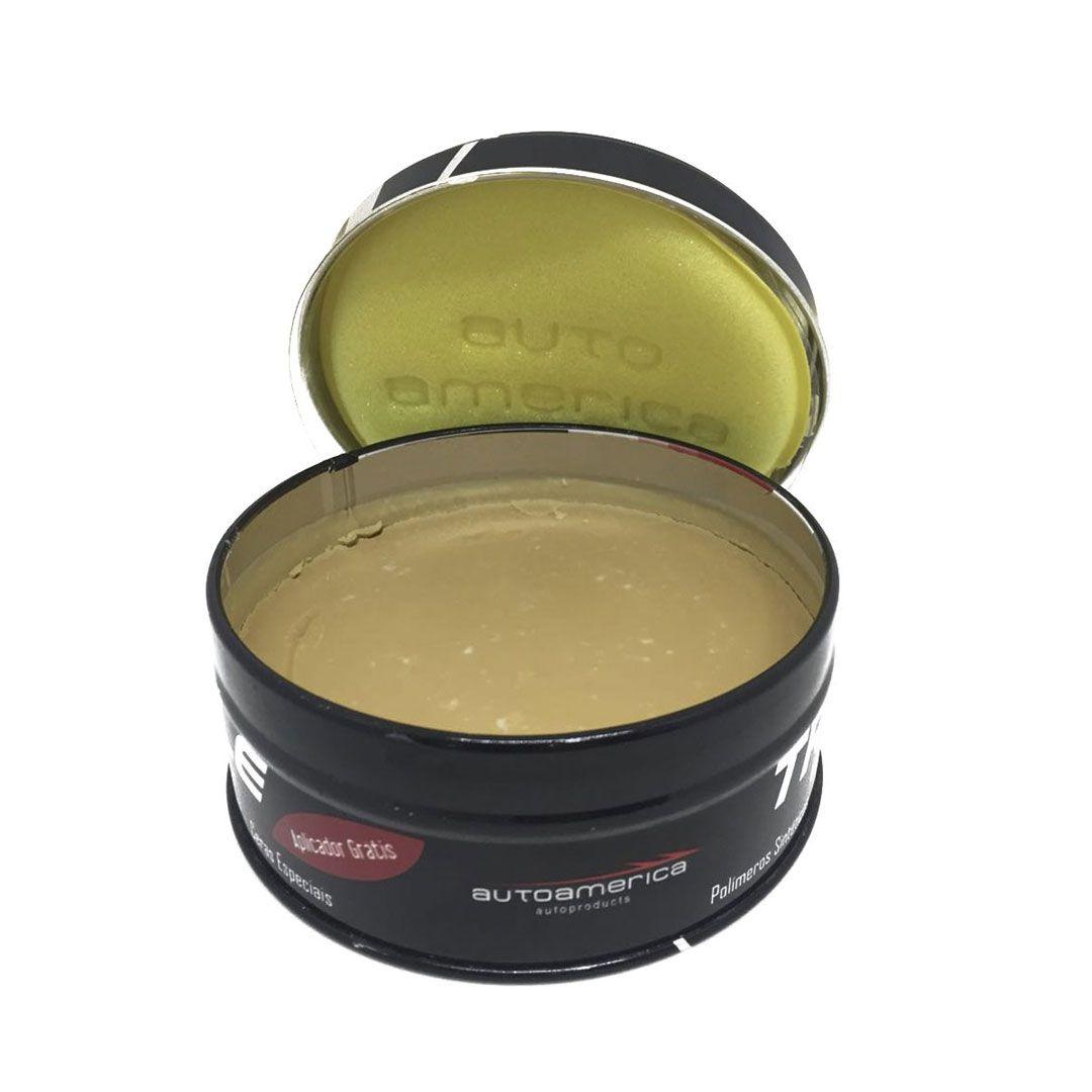 Cera de Carnaúba Autoamerica - Triple Paste Wax  (100g com Aplicador)