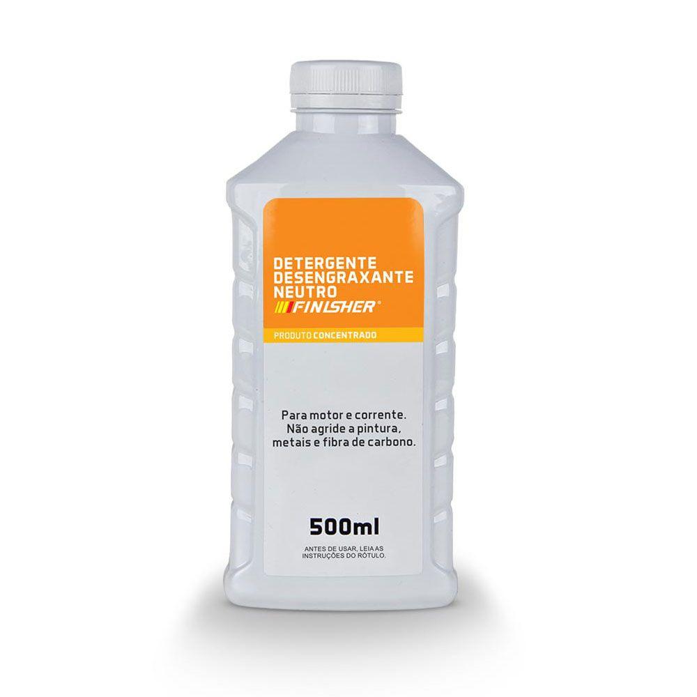 Detergente Desengraxante Finisher 500ml Limpeza de Motores e Correntes