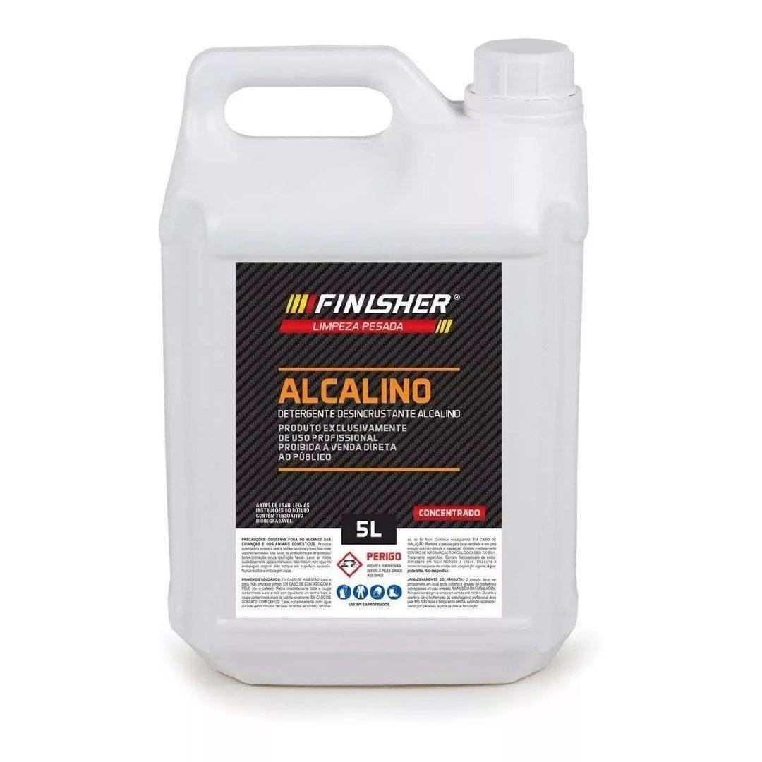 Detergente Desincrustante Alcalino Finisher - 5 Litros