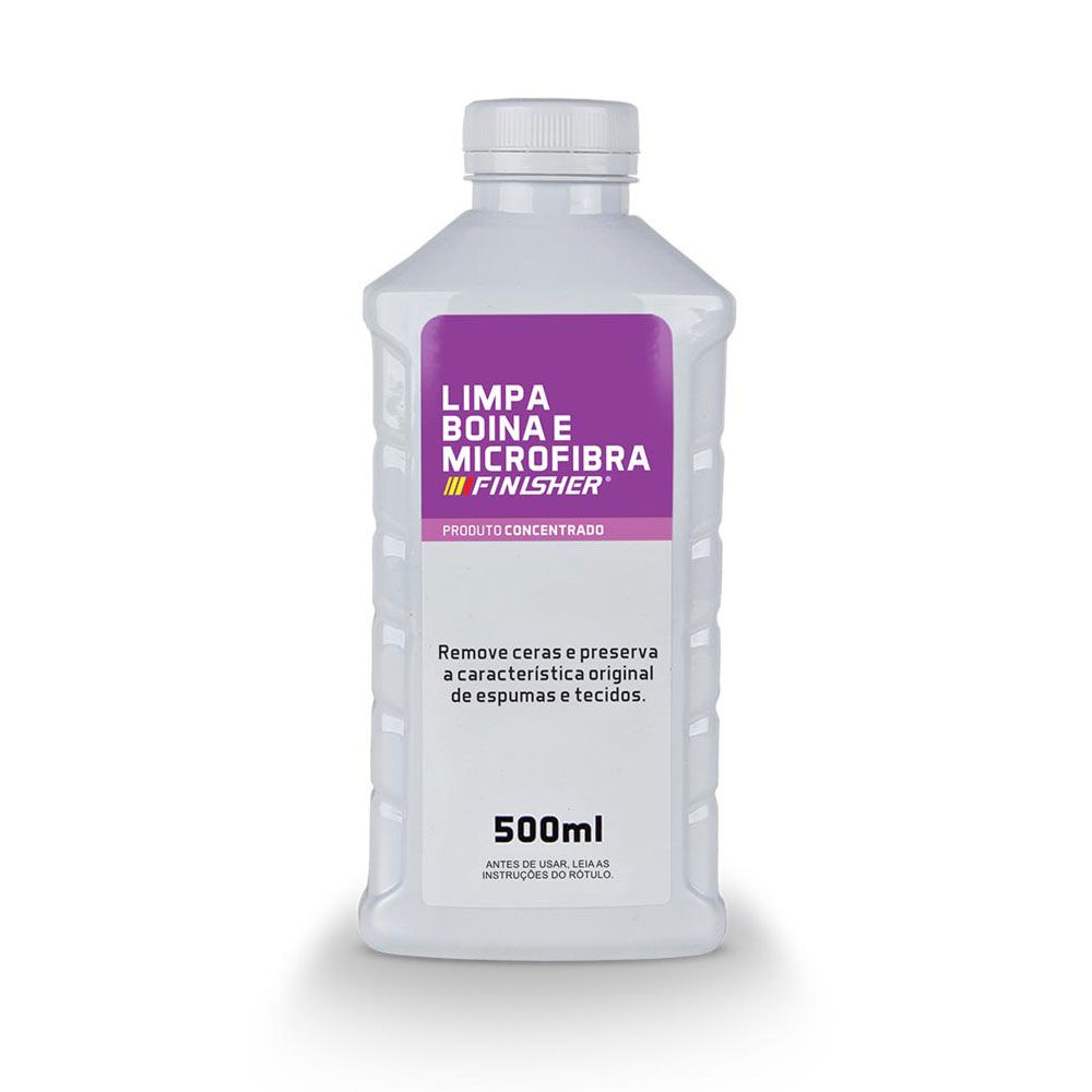 Limpa Boina e Pano de Microfibra Finisher de 500ml