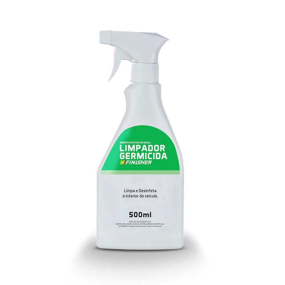 Limpador Germicida Finisher Limpa e Desinfeta o Interior do Veículo 500ml