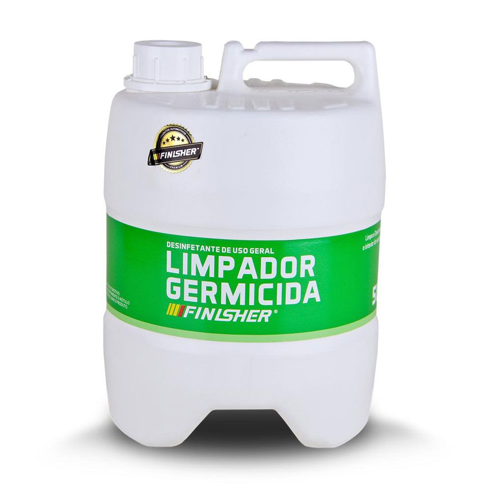 Limpador Germicida Finisher Limpa e Desinfeta o Interior do Veículo 5 Litros