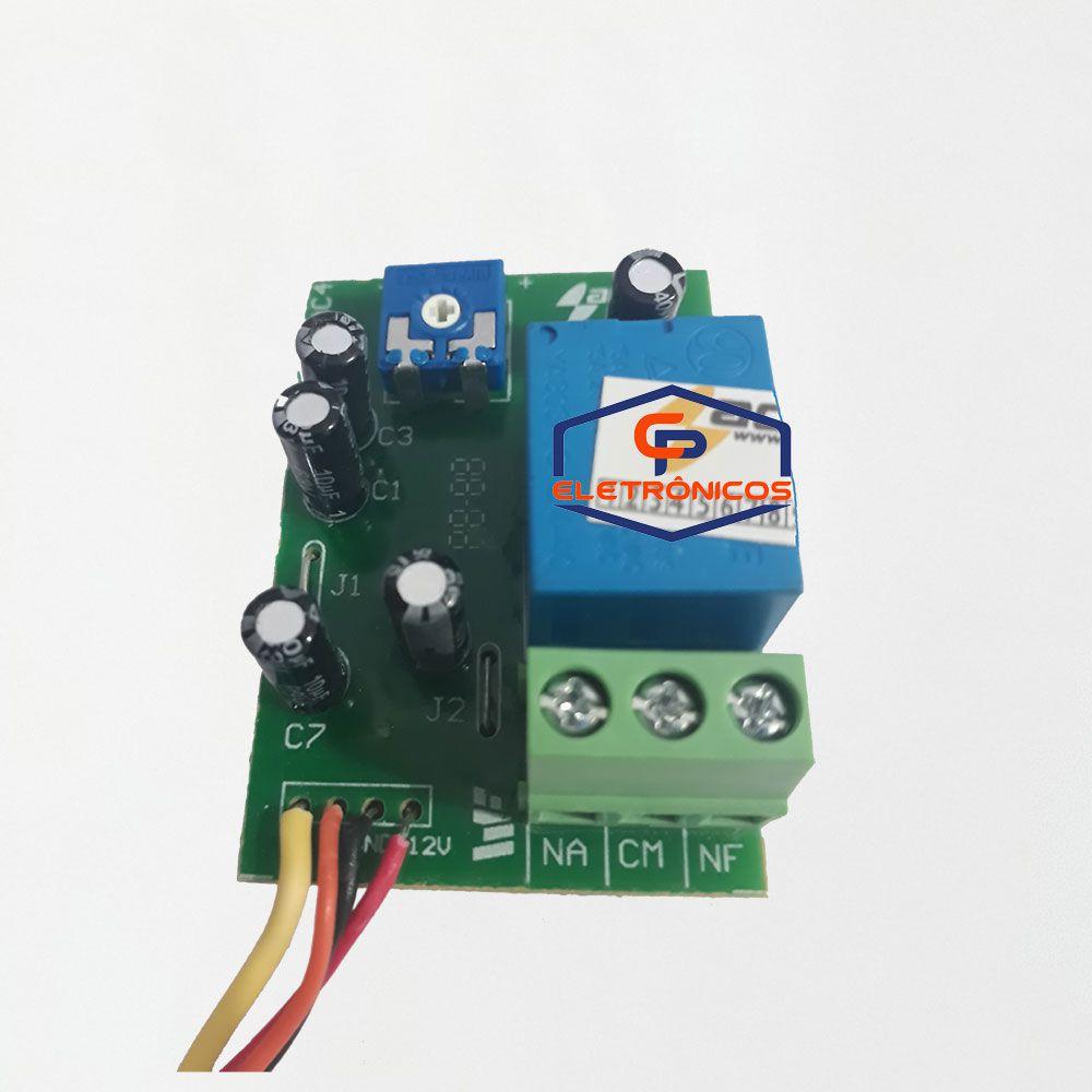 Módulo Temporizador Universal de Luz de Garagem, Trava Acton