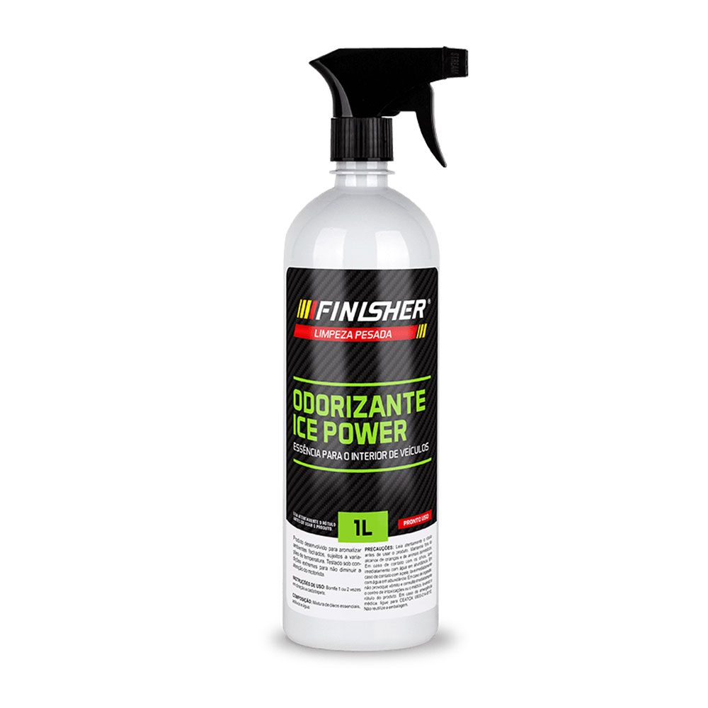 Odorizante Aromatizador Finisher Essência Ice Power (Menta) 1 Litro