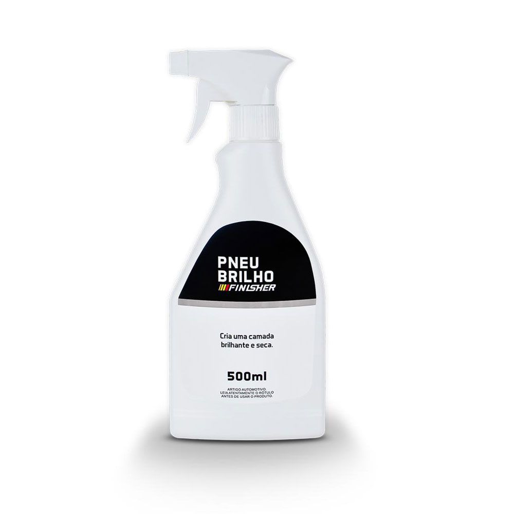 Pneu Brilho Pretinho Finisher Spray de 500ml