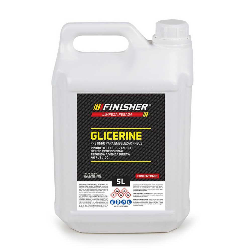 Pneu Pretinho Glicerine Finisher - 5 Litros