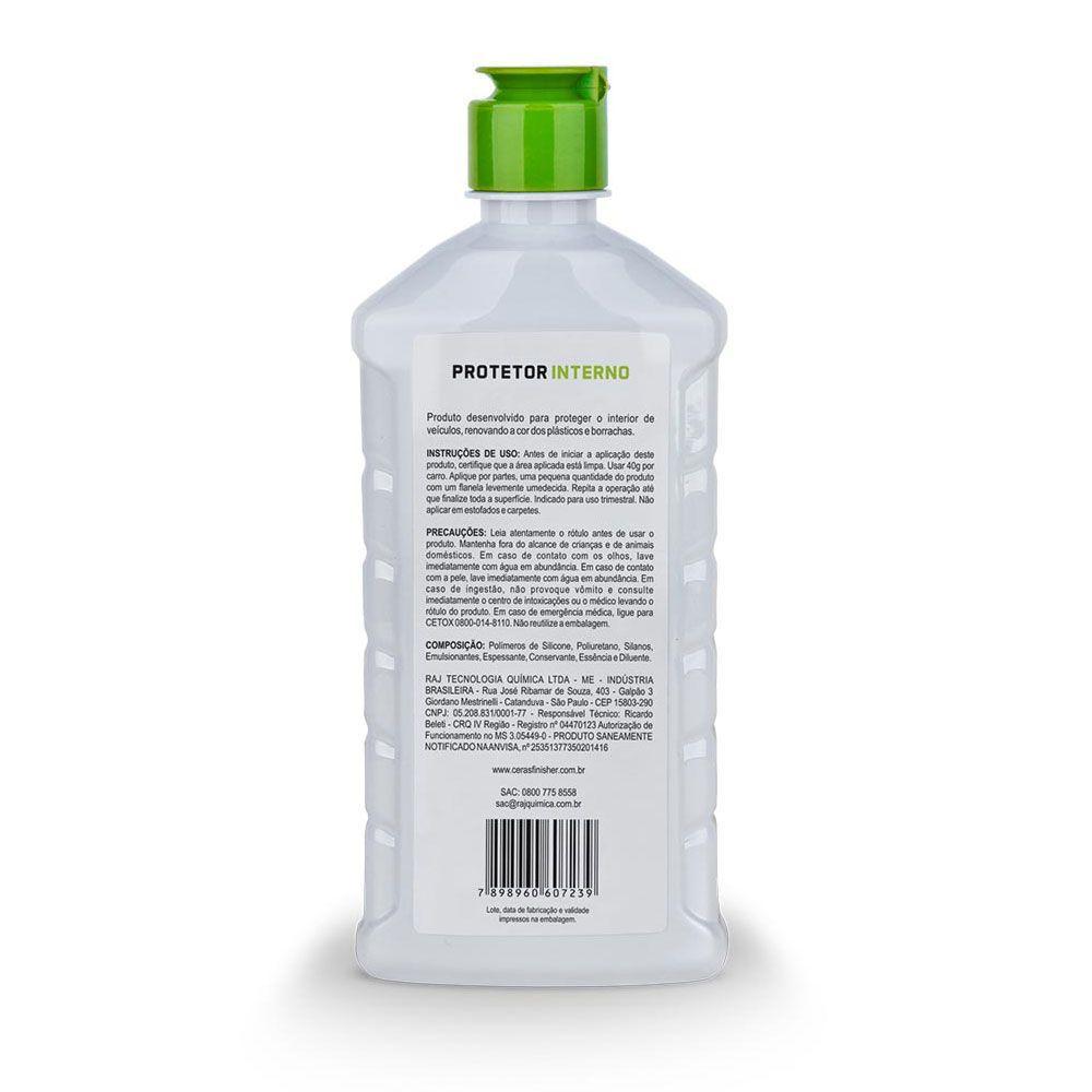 Protetor Interno de Plásticos e Borrachas - Finisher 500g